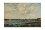 Tidal Breeze, Gosport, Hampshire Giclee Print by John William Buxton Knight