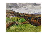 Cumberland Landscape, 1928 Giclee Print by Christopher Wood