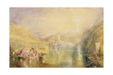Kussnacht, Lake of Lucerne, Switzerland, 1843 Giclee Print by Joseph Mallord William Turner
