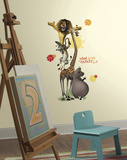 Madagascar Safari Peel and Stick Giant Wall Decals Wandtattoo