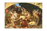 Work, 1852-65 Giclee Print by Ford Madox Brown