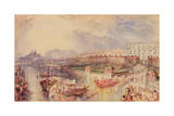 Whitehall, C.1835 Giclee Print by Joseph Mallord William Turner