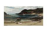 The Haven under the Hill (Anglesey), 1885-95 Giclee Print by Edwin Ellis