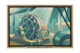 Making Electrical Machinery in the United Kingdom Giclee Print by Austin Cooper