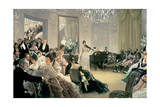 Hush! (The Concert), C.1875 Giclee Print by James Tissot