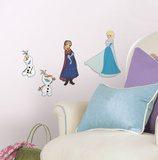 Frozen Foam Characters Wall Decal