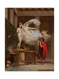Pygmalion and Galatea, 1797 Giclée-tryk af Louis Gauffier