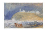 Dunstanborough Castle, Northumberland, C.1829 Giclee Print by Joseph Mallord William Turner
