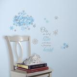 Frozen Let it Go Peel and Stick Wall Decals Muursticker