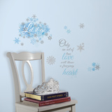 Frozen Let it Go Peel and Stick Wall Decals Wall Decal