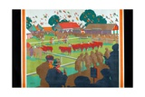 A Home Agricultural Show, 1927 Giclee Print by Gregory Brown