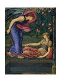 Cupid and Psyche, 1865-87 Giclee Print by Sir Edward Coley Burne-Jones
