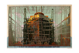 A Ship for Canada in a United Kingdom Shipyard Giclee Print by Charles Pears