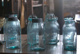 Vintage Quaker Mason Canning Jars Photo Poster Prints