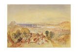 Genoa, Italy, C.1851 Giclee Print by Joseph Mallord William Turner