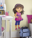 Dora and Friends Peel and Stick Giant Wall Decals Autocollant mural
