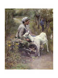 Jean, Jeanne and Jeannette, Exh.1892 Giclee Print by Elizabeth Adela Stanhope Forbes