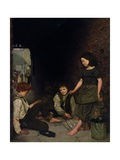 Manchester and Salford Children, 1861 Giclee Print by Thomas Armstrong