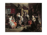 A Winter Night's Tale, C.1867 Giclee Print by Daniel Maclise