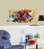 Big Hero 6 Wall Graphix Peel and Stick Giant Wall Decals Wall Decal