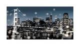 The City-San Francisco Giclée-Druck von Kate Carrigan