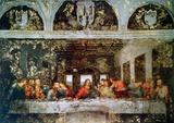 Cenacolo Kunst von  Leonardo da Vinci