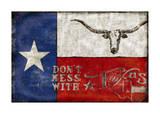 Texas Proud Giclee Print by Luke Wilson