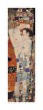 Mère à l'enfant Impression giclée par Gustav Klimt