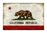 The California Republic Giclee Print by Luke Wilson