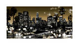 L.A. Nights I Giclée-tryk af Kate Carrigan
