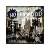 Landmarks L.A. Giclee Print by Dylan Matthews