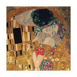 The Kiss, c.1907 (detail) Giclee Print by Gustav Klimt