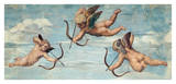 The Triumph of Galatea, 1511 (detail) Reproduction procédé giclée par  Raphael