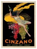 Cinzano, 1920 Reproduction procédé giclée par Leonetto Cappiello