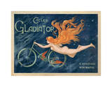 Cycles Gladiator, c.1895 Lámina giclée