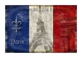 Republique Francaise Giclee Print by Luke Wilson