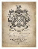 Heraldry I Giclee Print by Oliver Jeffries