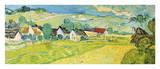 Vue Ensoleille pres d'Auvers Giclee Print by Vincent van Gogh