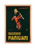 Maccheroni Pianigiani,1922 Impression giclée par Achille Luciano Mauzan