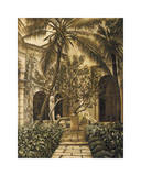 Loggia Giclee Print by David Parks