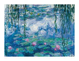 Nympheas Giclee Print by Claude Monet