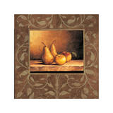 Pears and Apples Giclee Print by Andres Gonzales