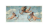 The Triumph of Galatea, 1511 (detail) Giclee-vedos tekijänä Raphael,