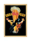Birra Itala Pilsen 1920 Ca. Gicléedruk van Leonetto Cappiello
