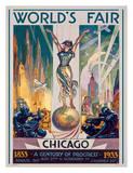 Chicago World's Fair, 1933 Giclee Print by Glen C. Sheffer