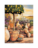 Lemon Topiary Giclee Print by Eduardo Moreau