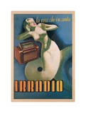 Irradio, 1939 Giclee Print by Gino Boccasile