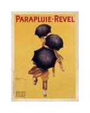 Reclameposter Parapluie-Revel, ca.1922 Gicléedruk van Leonetto Cappiello