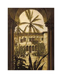 View to the Courtyard Giclee Print by David Parks