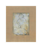 Femme Assise II Giclee Print by Dan Bennion